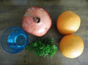 Smoothies - Power aus der Natur - Orange Granatapfel (5)
