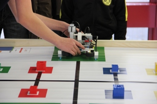 Startposition bei der World Robot Olympiad