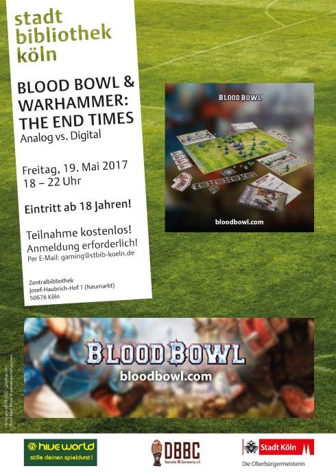 Plakat Blood Bowl Version Stbib